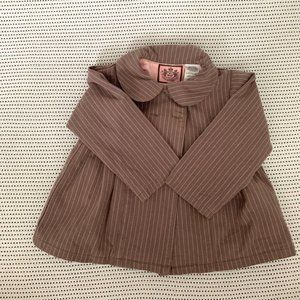 Juicy Couture Striped Jacket | 18m